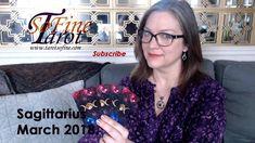 SAGITTARIUS Tarot March 2018 with Tarot So Fine #sagittarius #tarot #march #astrology #tarotcardreading Aries Tarot, Tarot Astrology, Leo And Sagittarius, Taurus, Earth Signs, Card Reading, March, Youtube, Mac