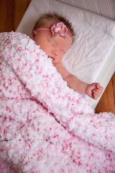 Soft Fluffy Snuggly Baby Blanket Wrap Swaddler 33 by TSBPhotoProps, $75.00