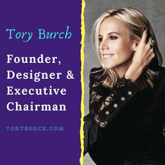 Most Powerful Mother Entrepreneurs 💪 Entrepreneur Stories, Most Powerful, Tory Burch, Life