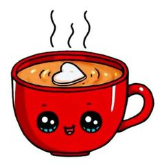 Hot Chocolate Mug Hot Chocolate Mug - lea - Zeichnung Kawaii Disney, Griffonnages Kawaii, Arte Do Kawaii, Kawaii Anime, Kawaii Girl Drawings, Cute Food Drawings, Cute Animal Drawings, Disney Drawings, Cartoon Drawings