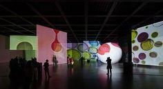 """Installation """"The Proliferation of the Sun"""" von Otto Piene"""