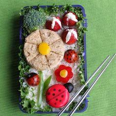 Ladybug Garden Bento Box | Recipes | Spoonful.com