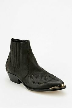 To Be Announced Western Ankle Boot