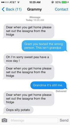 Mom texting
