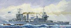 [閉じる] 米海軍重巡 CA-36 ミネアポリス 1942 (プラモデル) その他の画像1