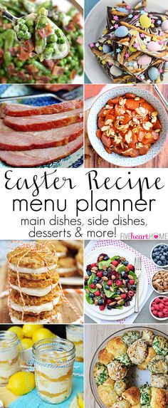 The Ultimate Easter Recipe Menu Planner