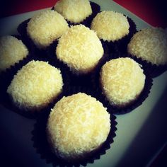 Receta de trufas de coco y limón