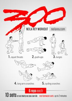 Nerd Visual Workouts | Neila Rey
