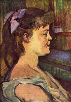 House wife by Henri de Toulouse-Lautrec