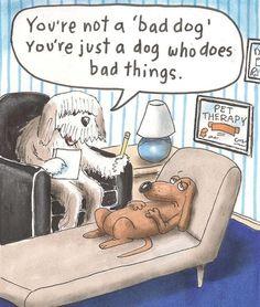 Dog psychiatrist  :)