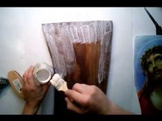OBRAZY NA DREWNIE - cicha galeria - czesc1