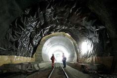 Gotthard base tunnel; longest in the world!
