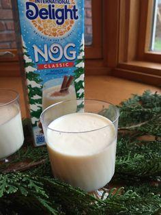Egg Nog-Espresso-Choco Holiday Cocktail #IDelight @indelight #eggnog # ...