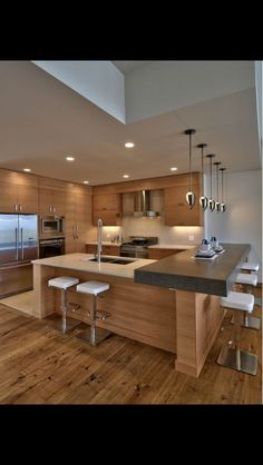 Kitchen's like this
