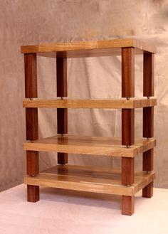 HiFi System Stand, Oak & Utile