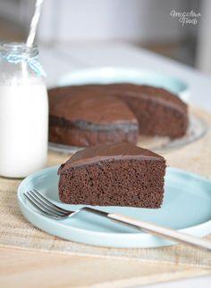 Chocolate Fudge Cake sans gluten, sans lactose et IG bas – Megalow Food