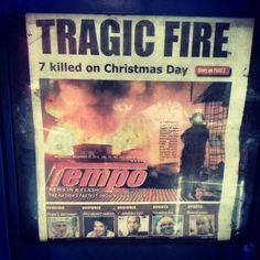 Not good(T_T) 大火事 #fire #firefighter #christmas #philippines #フィリピン