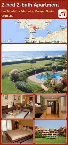 2-bed 2-bath Apartment in Los Monteros, Marbella, Malaga, Spain ►€913,500 #PropertyForSaleInSpain