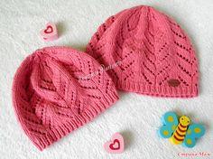 Хотелось на весну дочкам связать легкие ажурные шапочки спицами. В интренете…