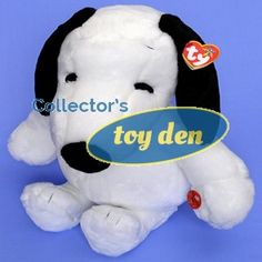 PEANUTS-SNOOPY VINTAGE STYLE BEANIE BUDDY 18 INCH PLUSH BY TY