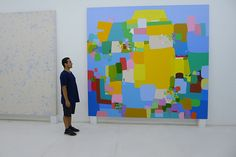 Herrero (b. 1978) is probably Costa Rica's best-known artist. His colourful canvases abstract from the country's natural and urban landscapes. He achieved international recognition aged just 22 in the 2001 Venice Biennale, in which he was invited to participate by curator Harald Szeemann, and at which he was awarded the Golden Lion for best young artist.