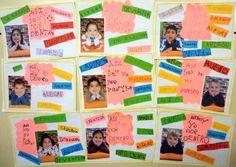 Mis cositas de infantil: ASÍ SOMOS POR FUERA Y POR DENTRO