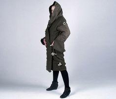 Great idea!  Sleeping bag coats that transform into makeshift homeless shelter