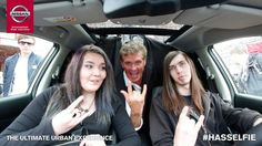 Nissan and David Hasselhoff Photobomb. So first, let me take a selfie! Take My, Nissan, David, Urban, Selfie, Let It Be, Selfies