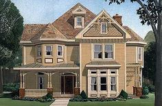 Voluminous Victorian - 19220GT   Country, Traditional, Victorian, Narrow Lot, Photo Gallery, 2nd Floor Master Suite, Den-Office-Library-Study, Jack & Jill Bath, PDF, Corner Lot   Architectural Designs