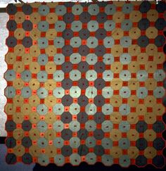 Very modern for a quilt made in early 1900's