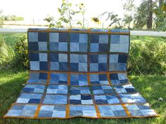 Denim - Quilt as you go