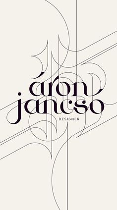 An extension of the original typography can be a very impressive design feature. Continuation of lines and shapes in this instance creates a modern and professional presence.