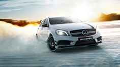 A+45+AMG+and+CLA+45+AMG+Join+the+AMG+Driving+Academy+[Photo+Gallery]