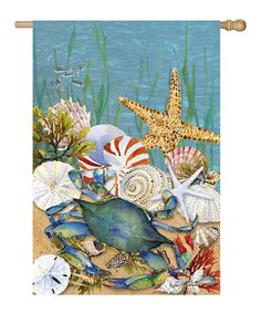 Take a look at this Nautical Garden Flag on zulily today!