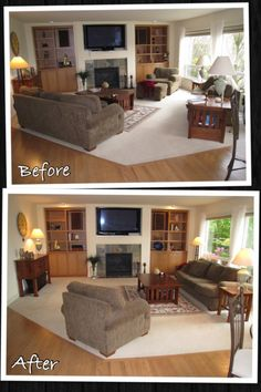 Living In A Home And Selling It Are Two Different Things. Staging A Family  Room. House Staging IdeasFurniture ...