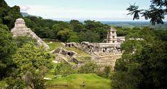 Photo de temples mayas
