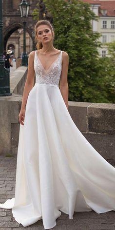 Wedding Dress Lace Top Silk Bottom Off 75 Buy