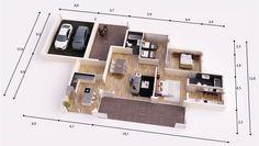 SANTANDER DONACASA 170m2 , Hormigón celular con trasdosado tejado plano