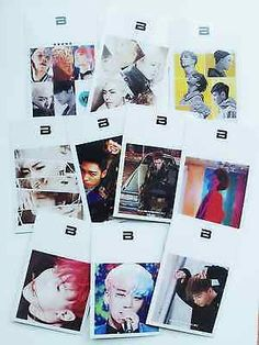 [ BIGBANG ] Bigbang Photo Card 10pcs K-POP Kpop Idol Coods
