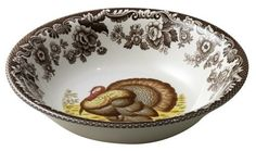 Spode Woodland Turkey Cereal Bowl by Spode, http://www.amazon.com/dp/B00181SI9A/ref=cm_sw_r_pi_dp_hnWMqb0RJY219
