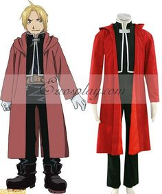 Fullmetal Alchemist Edward Elric Cosplay Costume - Only Cloak and Coat Edward Elric Cosplay, Fullmetal Alchemist Cosplay, Fullmetal Alchemist Edward, Unique Toddler Halloween Costumes, Cool Costumes, Buy Cosplay, Cosplay Wigs, Anime Cosplay, Cosplay Lindo