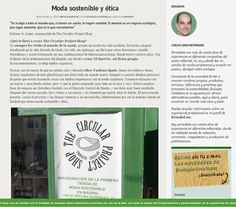Ecología Cotidiana – 15/01/2015 -  The Circular Project Shop