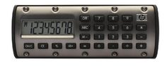 "HP QuickCalc Calculator - 8 Character(s) - Battery Powered - 0.59"" x 4.65"" x 1.73"" by HP. $1.98. If you need to do quick calculations on the road, our compact, stylish QuickCalc calculator is ready. It`s simple to use, and so small that you can keep it on your key chain, in your handbag or briefcase, or in your car.. Save 88% Off!"