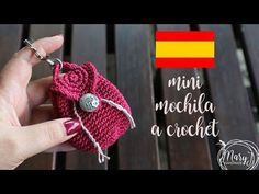 Mini Monedero REDONDO!!! TEJIDO A CROCHET **DIY Crochet MUY FACIL!!!! - YouTube