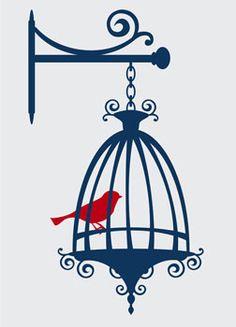 Kleiderständer clipart  Bird cage clipart rustic, wedding digital cages clipart, shabby ...