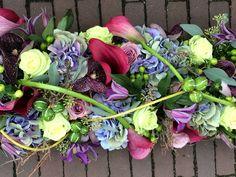 Bont rouwstuk Floral Wreath, Wreaths, Vegetables, Home Decor, Floral Crown, Decoration Home, Door Wreaths, Room Decor, Vegetable Recipes