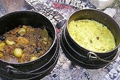 Kalahari Mince Curry with Yellow Rice Braai Recipes, Beef Steak Recipes, Spicy Recipes, Indian Food Recipes, Cooking Recipes, Oven Cooking, Curry Recipes, Vegan Recipes, South African Dishes
