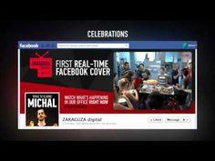 Real Time Facebook Cover - Zaraguza Digital - BIG