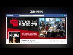 Real Time Facebook Cover - Zaraguza Digital - BIG // Is it possible to put video on facebook cover???