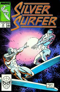 Silver Surfer n°14 (1988) by Mike Mignola and Joe Rubinstein.